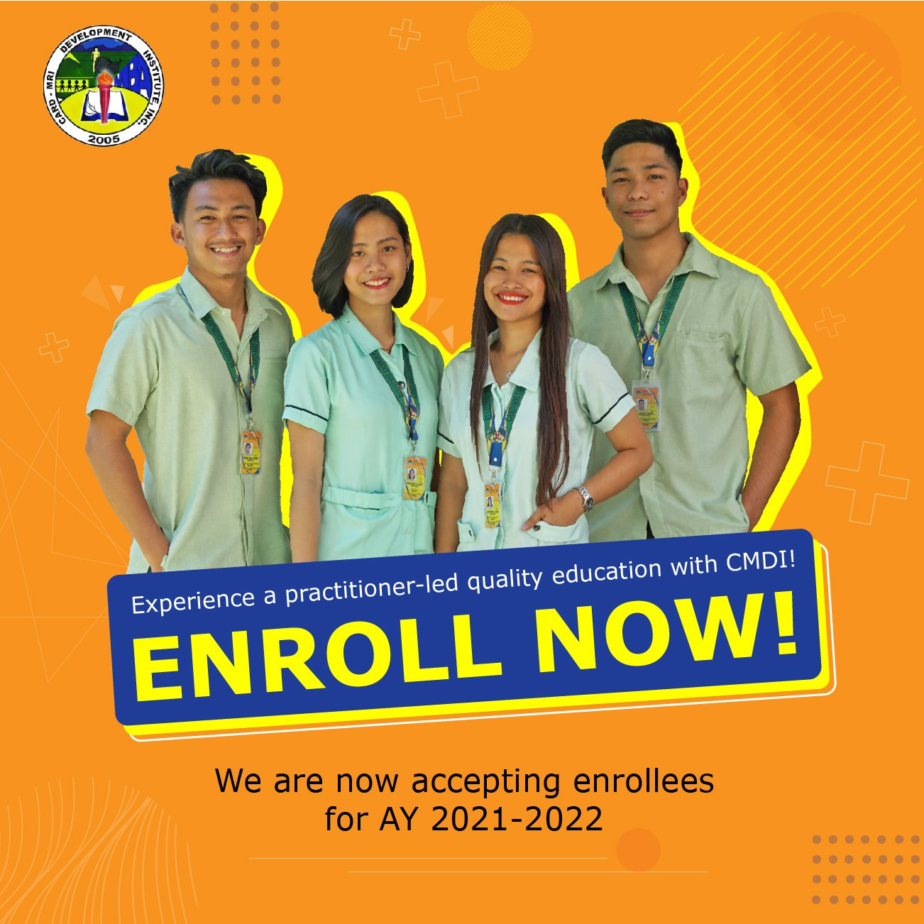 CMDI Enrollment Procedures and Learning Modalities AY 2021-2022
